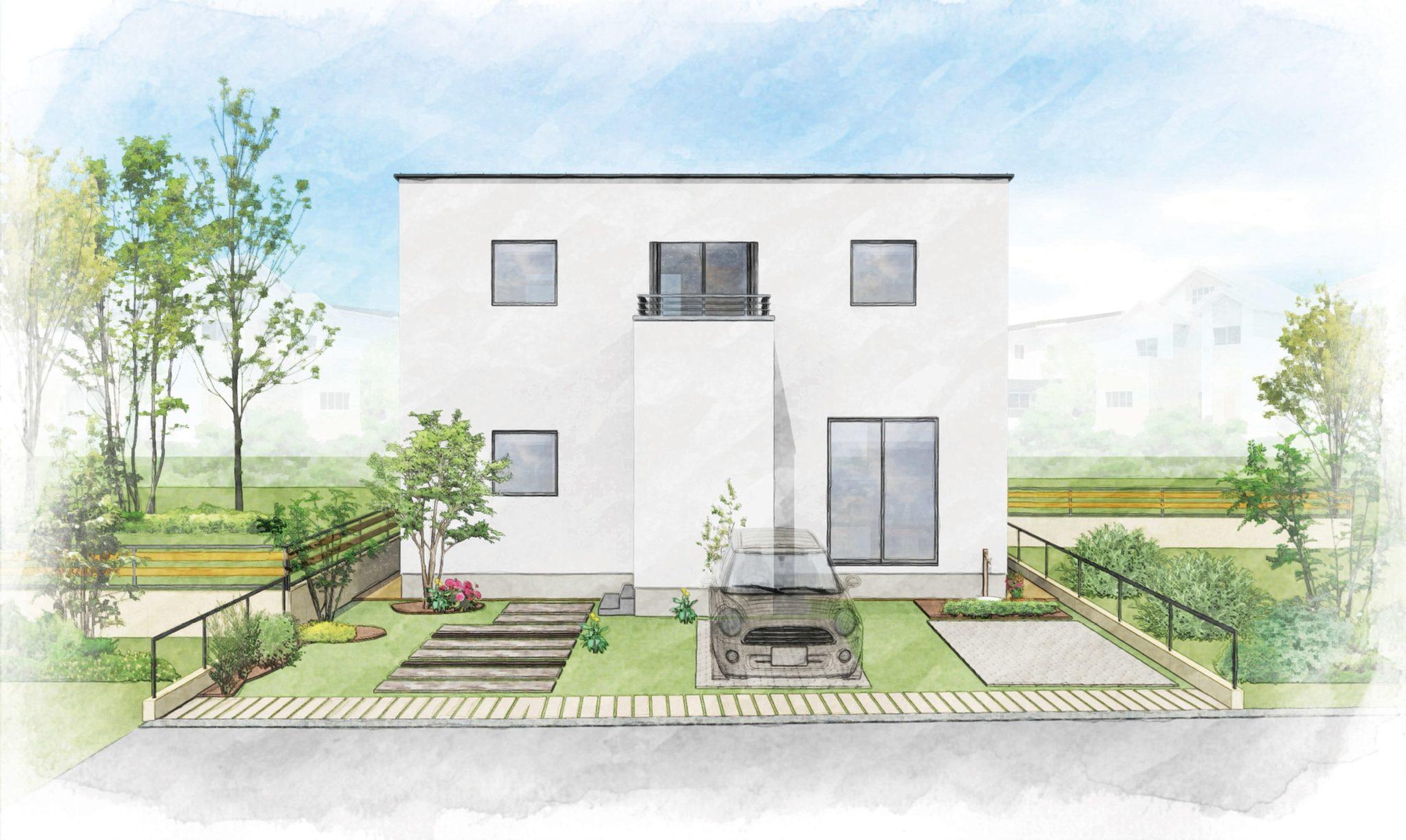 「小さな森のまち米倉130」提案住宅販売開始!【2号棟販売価格3,480万円・3LDK+S】